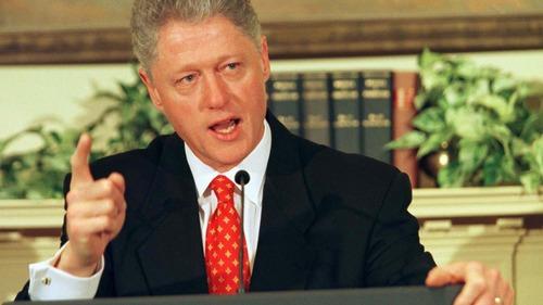 Avec qui l'ancien président américain Bill Clinton avait-il eu une relation cachée ?
