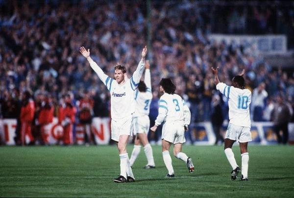 Quel géant d'Europe les olympiens ont-ils éliminé de la LDC le 20 mars 1991 ?