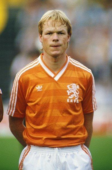 Combien de sélections Ronald Koeman compte-t-il pour les Oranges ?