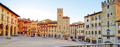Arezzo è una citta che si trova in