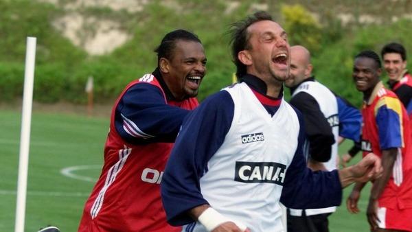 Bernard Lama et Lionel Charbonnier sont les deux seuls français à n'avoir disputé aucune minute de ce Mondial.