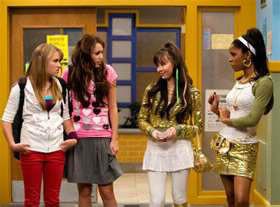 Qui sont les ennemis de Miley, dans la série ?