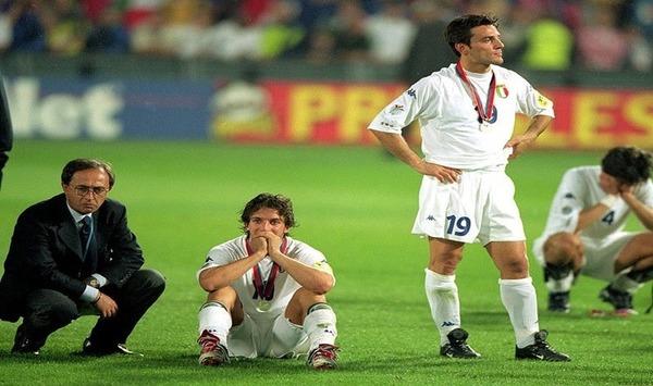 Pour les italiens la défaite est rude car ils n'ont jamais remporté un Championnat d'Europe des Nations.