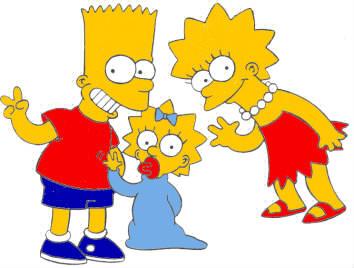 Comment s'appellent les enfants de Marge et Homer Simpson ?