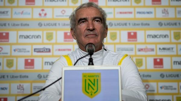 En 8 matchs sur le banc de FC Nantes, Raymond Domenech n'a jamais connu la victoire.