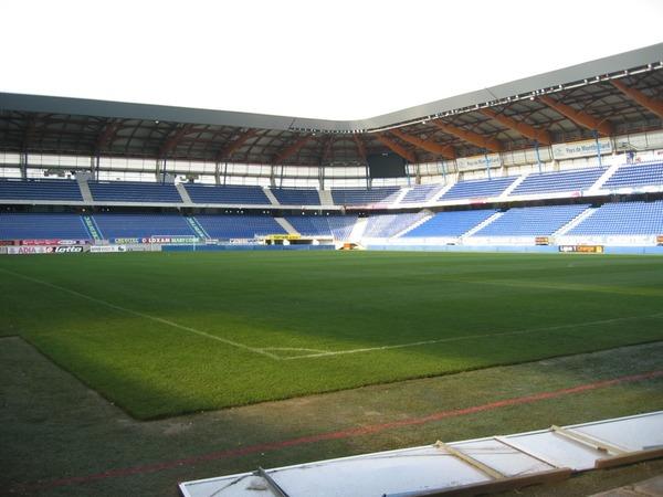Antre du FC Sochaux-Montbéliard depuis 1931, c'est le ......