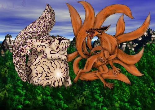 Qual foi o primeiro inimigo mais forte de Naruto no Clássico?