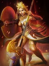 """Quel est le nom romain de la déesse """"Athéna"""" ?"""