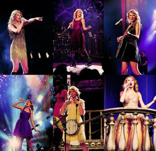 Taylor 'ın 3. Albümünün turnesinin  adı nedir ?