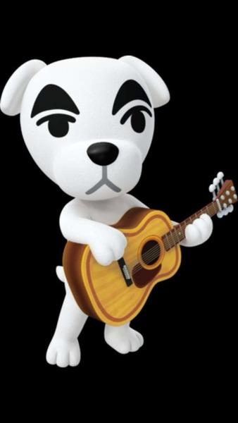 Qui est ce personnage qui fait des concerts sur ACNH ?