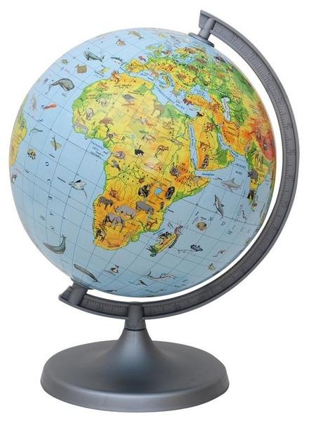 Jak se jmenuje model zeměkoule?