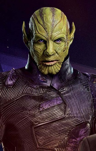 Qui est le nom du skrull ennemi puis ami de captain Marvel ?
