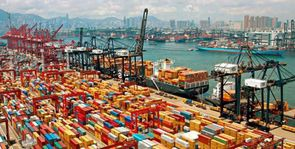 Qu'est ce qui facilite le transport des marchandises d'un mode de transport à l'autre ?