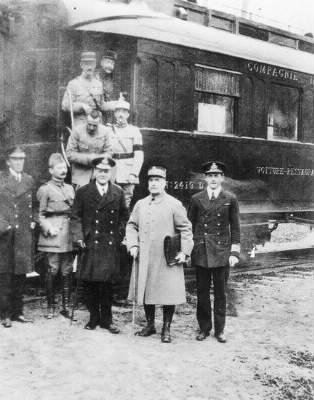 Quand l'armistice de la première guerre mondiale est-elle signée?