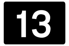 Comment dire 13 en Allemand ?