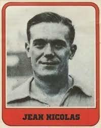 Avec quel club Jean Nicolas termine-t-il meilleur buteur en 1938 ?