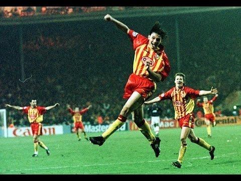 Contre quelle équipe le RC Lens est allé s'imposer 1-0 en Champions League 1998 à Wembley ?