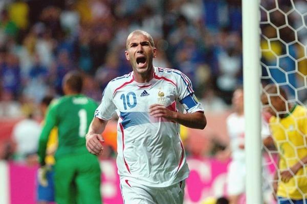 Combien de buts Zinédine Zidane a-t-il inscrit en 3 Coupes du Monde ?
