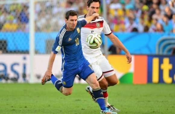 Où se dispute la finale de 2014 entre l'Argentine et l'Allemagne ?