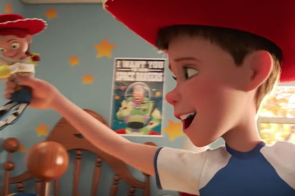 """Comment s'appelle le petit garçon à qui appartiennent Woody et Buzz dans """"Toy Story"""" ?"""