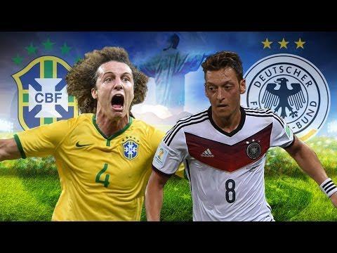 Quel est le score final du match entre le Brésil et l'Allemagne en demi-finale de la coupe du monde 2014 ?