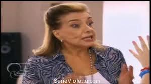 Qui est la grand-mère de Violetta ?