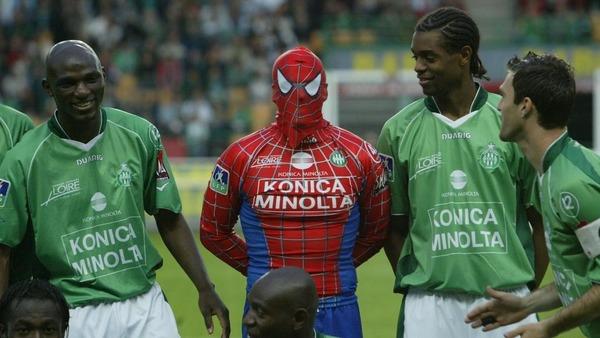 Quel célèbre gardien du club s'est déguisé en Spider-Man le temps d'une rencontre ?