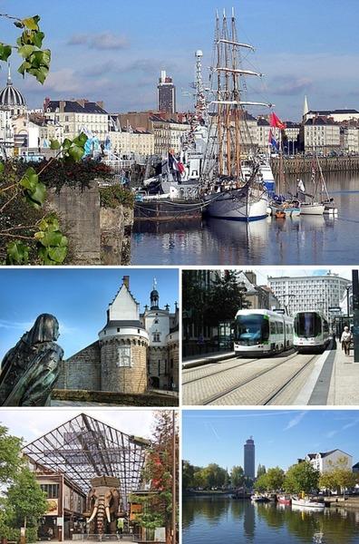 Où se situe Nantes ?