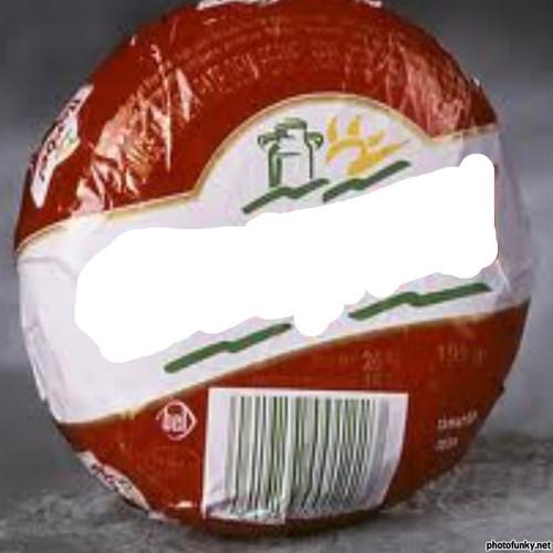 Devinez la marque cachée derrière ce logo : marque commerciale d'une série de fromages industriels créée en 1931.