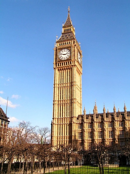 What is the name of London's iconic clock ?