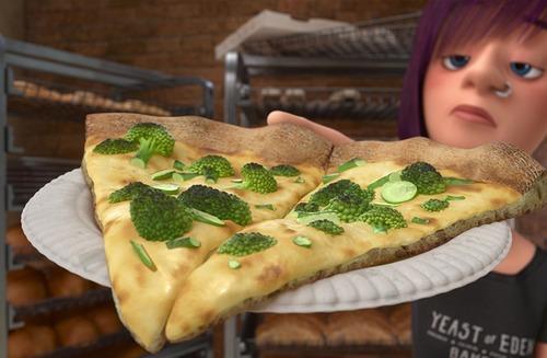 Dans quel grand classique Disney peut-on voir cette pizza ?