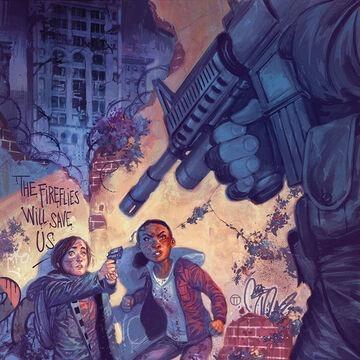 """Dans le Comic Book """"The Last Of Us : American Dreams"""", que vole Riley à Ellie ?"""