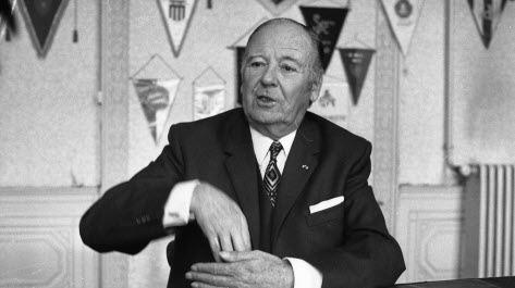 De 1950 à 1959, il a été le premier président de l' Olympique Lyonnais. Il s'agit de ?