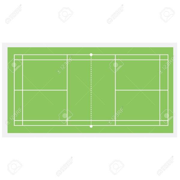 Quelles sont les dimensions d'un terrain de Badminton ?