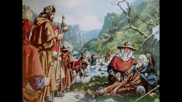Selon la légende, au Moyen-Age, que ramenaient les pèlerins de Compostelle, preuve de leur long périple ?