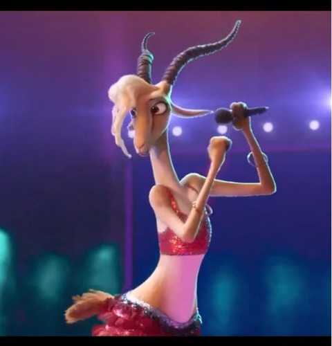 Quelle chanteuse interprète la gazelle dans Zootopie ?