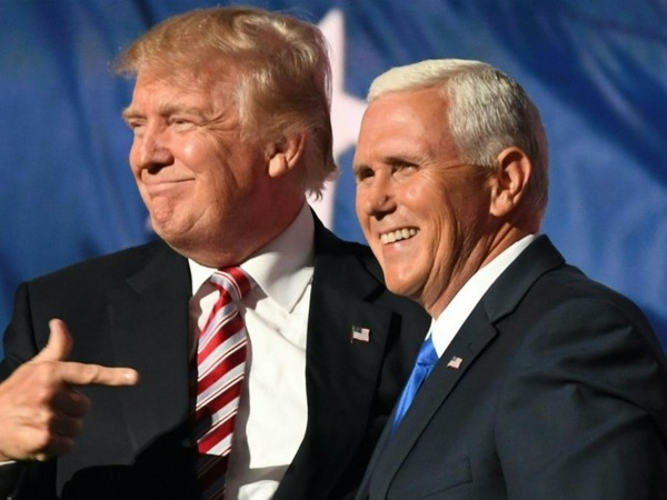 what's the name of the vice president of trump ?