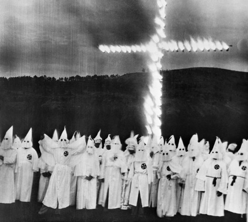 The KKK was a group of ...