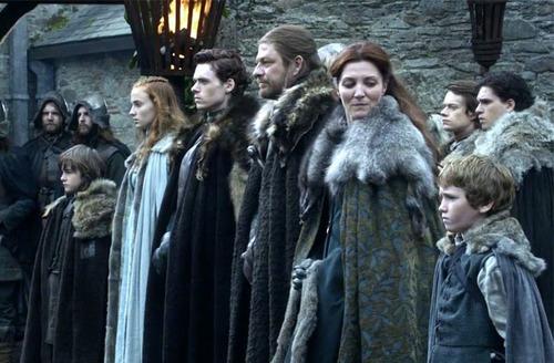 Lequel n'est pas issu de la Maison Stark ?