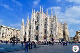 Temperaturas mínima e máxima em Milão
