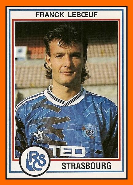 Franck Leboeuf a été formé au RC Strasbourg.