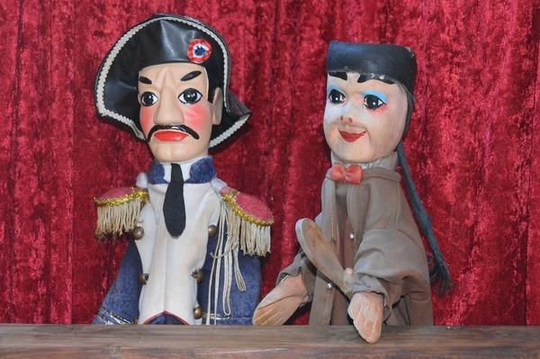 En quelle année a été créée la marionnette Guignol ?