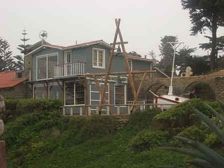 La casa museo del poeta Pablo Neruda esta en