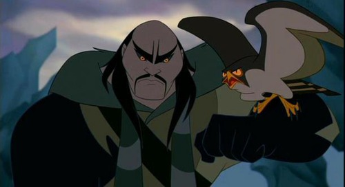 Dans Mulan: Quel célèbre doubleur incarne Shan Yu dans la version française du film ?