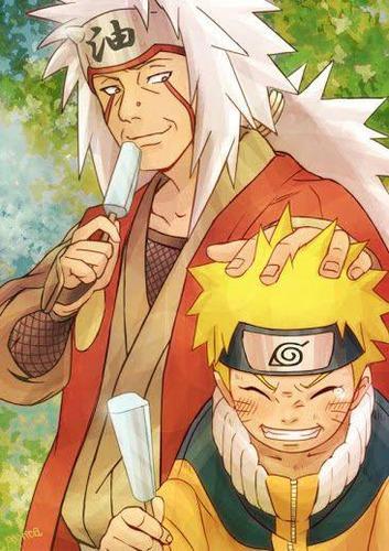 Em qual episódio Naruto conhece Jiraya?