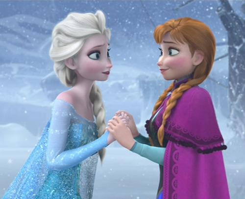 Dans La Reine des neiges Elsa et Anna sont :