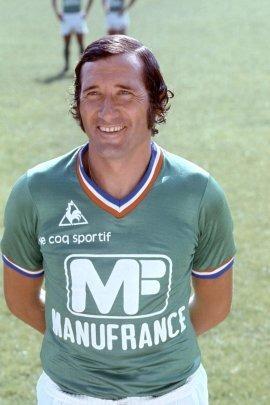 Hervé Revelli termine meilleur buteur du championnat de France 75/76.