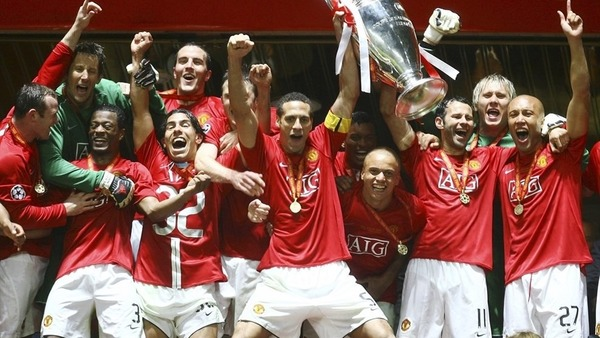 Qui perd la finale de 2008 contre Manchester United ?