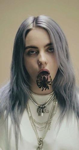 Dans quel clip une arraignée sort de la bouche de Billie ?