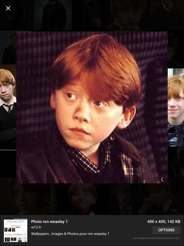 Quel est le vrai prénom de Ron ?